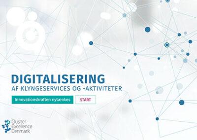 Digitalisering af klyngeservices- og aktiviteter