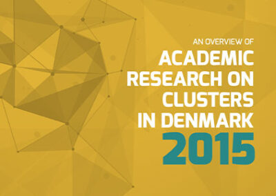 Mapping of Clusters August 2015