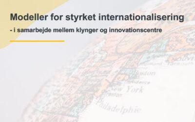 Ny rapport: Modeller for styrket internationalisering