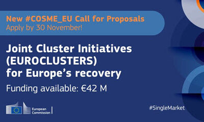 Nyt klynge-call: Joint Cluster Initiatives (EUROCLUSTERS) for Europe's recovery