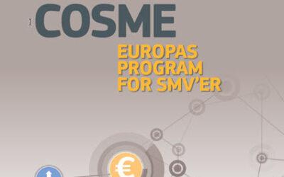 Opdateret oversigt over COSME-calls fra 2021-arbejdsprogram